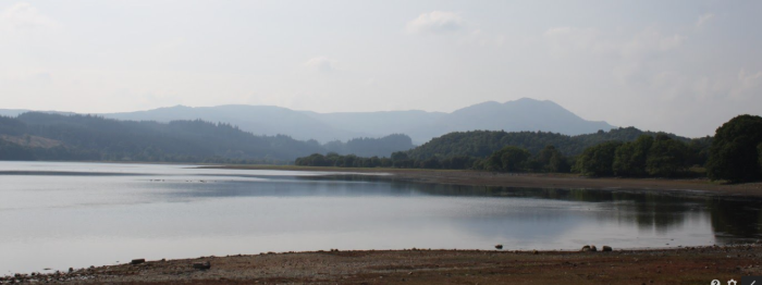 Stunning views across the Loch